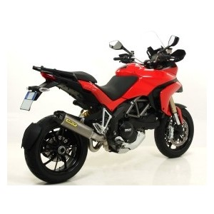 Terminale Arrow works in titanio con fondello carby per Ducati multistrada 1200
