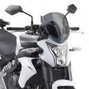 Cupolino specifico Givi con kit di fissaggio per Kawasaki er6n 650 2012