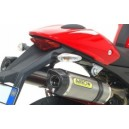 Impianto di scarico completo Arrow thunder in titanio fondello carby Ducati monster 1100