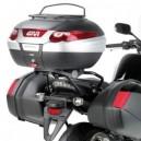 Portavaligia specifico per valigie monolock per Honda cbf 1000 / cbf 1000 st