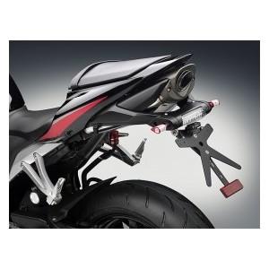 Portatarga regolabile nero Rizoma Honda cbr 600 rr