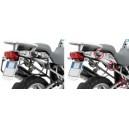 Portavaligie laterale tubolare ad aggancio rapido Givi per valigie monokey per BMW r 1200 gs