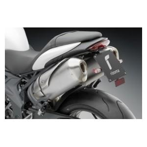 Portatarga regolabile Rizoma per Triumph speed triple 2011