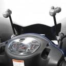 Cupolino Biondi mod. little club con attacchi per Suzuki sixteen 125  150