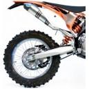 Impianto completo enduro sport inox e titanio KTM 350 exCF