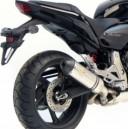 Terminale Leovince factory evolution ii in titanio per Honda hornet cb f 600 e cbr 600 f