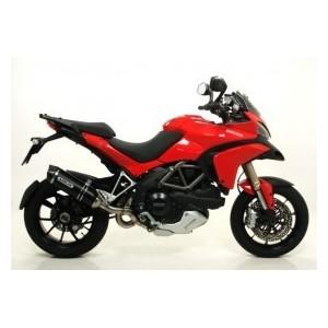 Terminale Arrow racetech alluminio dark Ducati multistrada 1200