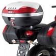 Portavaligia specifico per valigie monokey® sr121 per Suzuki gladius 650 2009