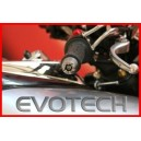 Contrappesi manubrio in lega leggera di alluminio Evotech per Suzuki