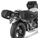 Telaietti specifici per borse Givi easylock per Triumph speed triple 1050