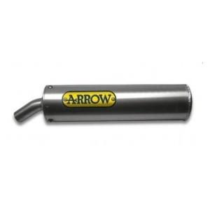 Silenziatore scarico Arrow omologato alluminio Aprilia rx 50