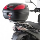 Piastra specifica Givi per bauletti monolock® per Aprilia sportcity cube 125200300