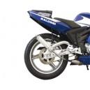 Marmitta Malossi gp mhr per moto 50 Mbk e Yamaha [minarelli am6] 2t