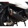 Silenziatore Zard penta inoxalluminio nero racing Kymco downtown 300i - Foto 2