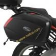 Portavaligie laterale tubolare Givi per valigie monokey® side v35 Kawasaki versys 650