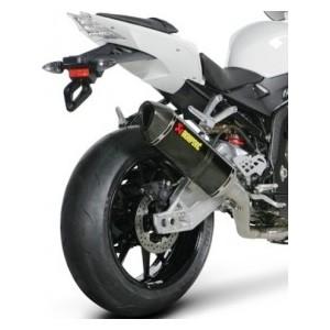 Scarico Akrapovic completo evolution full titanio con terminale carbonio BMW s1000rr