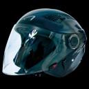 Casco jet Astone dj10 monocolor black gloss
