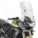 Parabrezza Givi scorrevole airflow con attacchi per Triumph tiger 800  tiger 800 xc 2011
