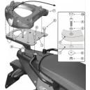 Piastra specifica Givi per bauletti monolock per BMW f 650800 gs