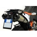 Terminali scarico racetech titanio dx+sx KTM 990 adventure