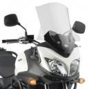 Cupolino trasparente Givi con attacchi specifici per Suzuki dl 650 vstrom