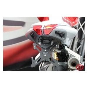 Portatarga regolabile Evotech per MV Agusta brutale