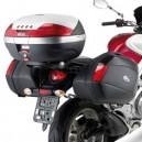 Portavaligie laterale tubolare per valigie monokey® side per Suzuki gladius 650 09