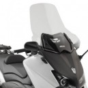 Parabrezza trasparente Givi con paramani Yamaha tmax 530 2012