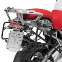 Portavaligia specifico in alluminio per valigie monokey BMW r 1200 gs adventure