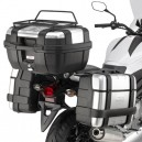Portavaligie laterale tubolare per valigie monokey per honda nc 700 x