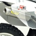 Silenziatore scarico Arrow titanio per HM 50cc CRE Baja, Derapage, Six...