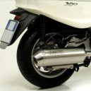Marmitta Arrow Reflex con collettore Racing per Piaggio X10 i.e. 2012