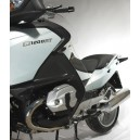 Kit coppia spoiler deflettori superiori e inferiori Isotta per BMW R1200RT 2010 Fumè
