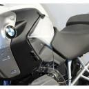 Spoiler deflettori superiori Isotta per BMW R1200 GS fumè chiaro