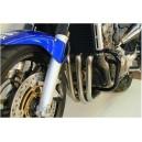 Paramotore tubolare nero Krauser per Honda Hornet 900