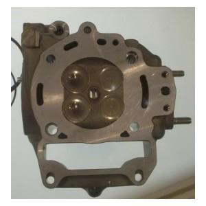 Testa v4 head Malossi in alluminio per motori Piaggio 200250300