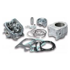 Gruppo termico Malossi in alluminio per motori Piaggio 300