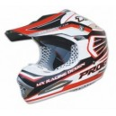 Casco cross fibra Progrip