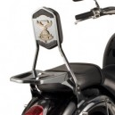 Schienalino con portapacchino asportabile per Kawasaki vn 900 custom