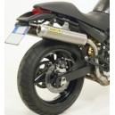 Terminali roundsil titanio omologati versione alta Ducati monster