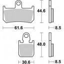 Pastiglia disco freno Braking per Yamaha r1 1000, mt01 e vmax 1700 semimetallica stradale uso racing