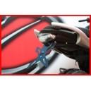 Portatarga regolabile Evotech per Suzuki gladius 650