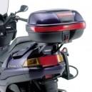 Portavaligia specifico per valigie monokey con piastra per Yamaha majesty 250