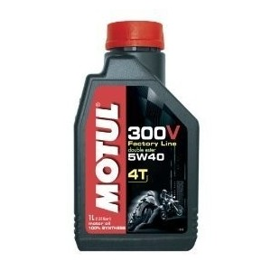 Olio 4t Motul 300v factory line 5w40