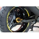 Cover perno ruota Evotech per Yamaha tmax 500