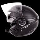 Casco jet Astone dj10 monocolor matt black