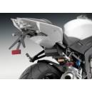 Portatarga Rizoma fox per BMW s1000rr con sottocoda in carbonio.