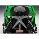 Portatarga regolabile Rizoma per Kawasaki zx6 r dal 2009