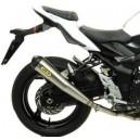 Terminale inox pro racing con fondello carby omologata Suzuki gsr 750