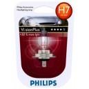 Lampada visionplus Philips h7